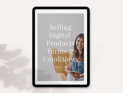 Selling Digital Products - Terms & Conditions