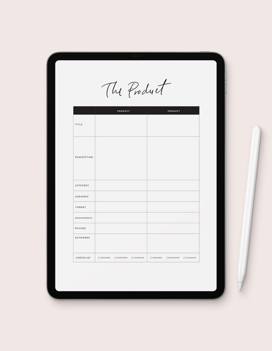 The Collection & Product Planner