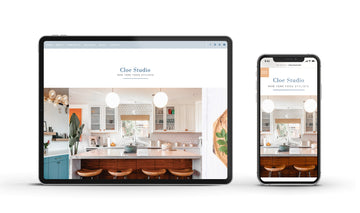 Showit Website template - Cloe
