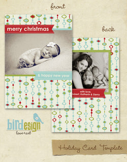 Holiday Photocard | Ornate christmas