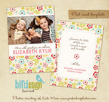 Birth Announcement | Sisters & Joy