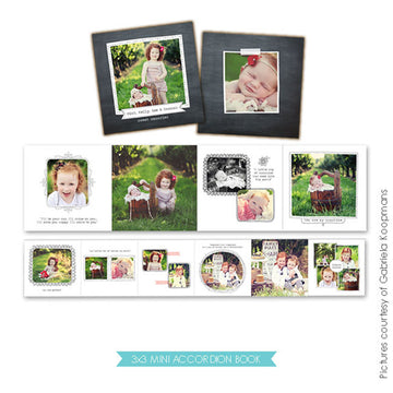 Accordion mini 3x3 | Blooming smiles