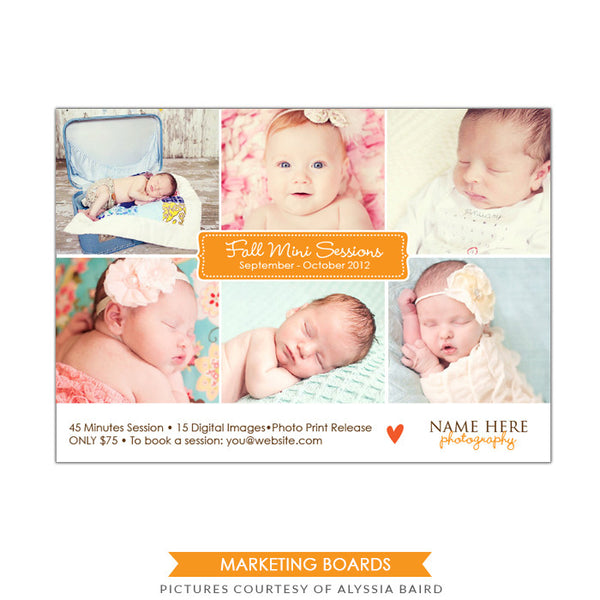 Photography Marketing board | Little ones