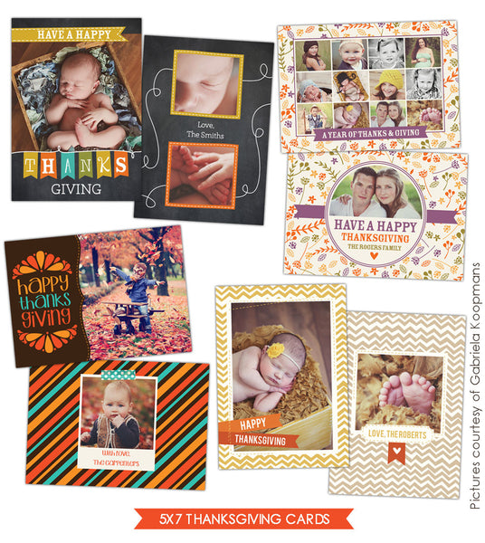 Thanksgiving Cards Bundle | Grateful season