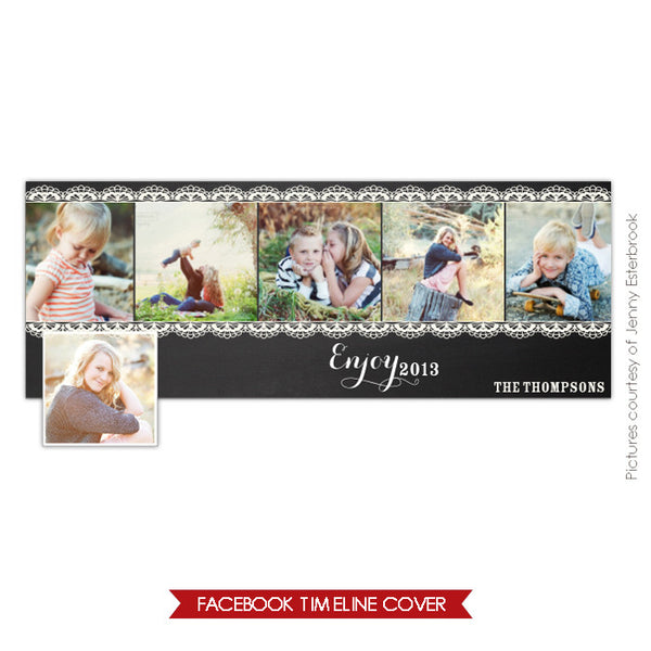 Facebook timeline cover | Enjoy 2013
