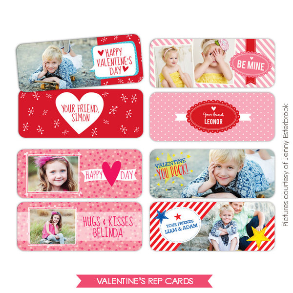 Valentine Rep cards bundle | Super friends