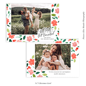 Christmas Photocard Template | Always Christmas
