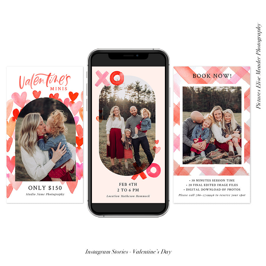 Instagram Stories Mini Sessions  | Valentine's Minis