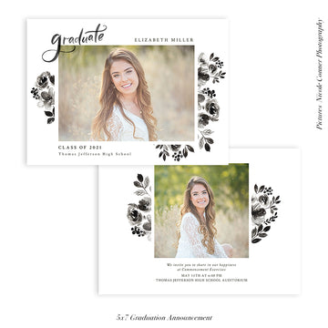 Graduation Senior Announcement | DayDream Graduate