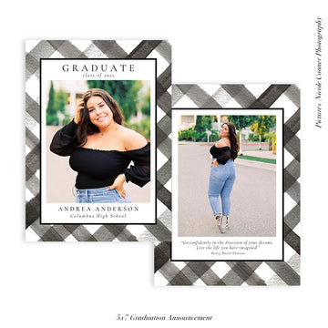Graduation Senior Announcement | Graduate Memories