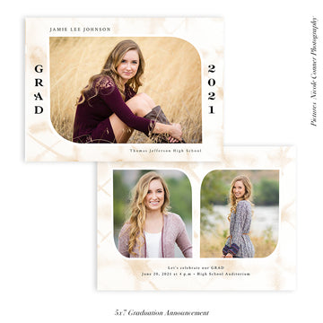 Graduation Senior Announcement | The Big Day