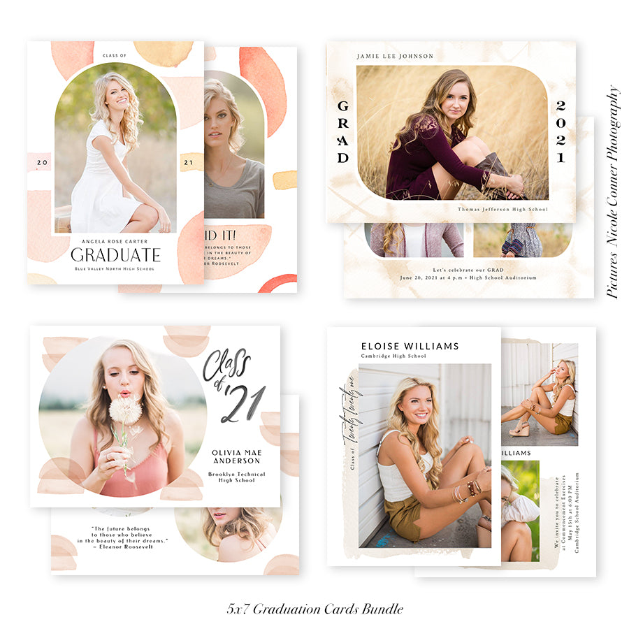 Graduation Senior Announcement Bundle | We Made it!