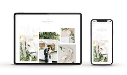 Moonstone - Customizable Showit Website template