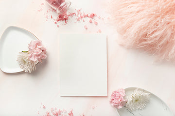 Carnation Blush Stock Image - 5x7 card