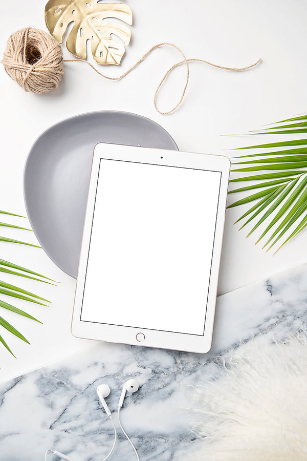 Tropical Mockup Image | Ipad 1