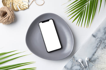 Tropical Mockup Image | Iphone 1