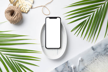 Tropical Mockup Image | Iphone 2