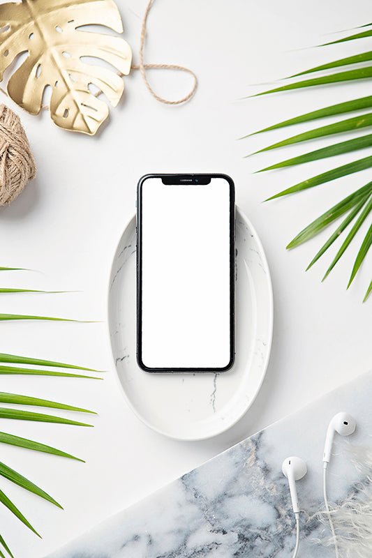Tropical Mockup Image | Iphone 3