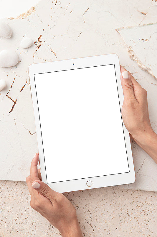 Galala Collecton Mockup Stock | Ipad 3