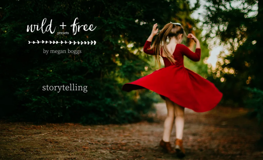 Wild & Free Premium Lightroom Presets by Megan Boggs