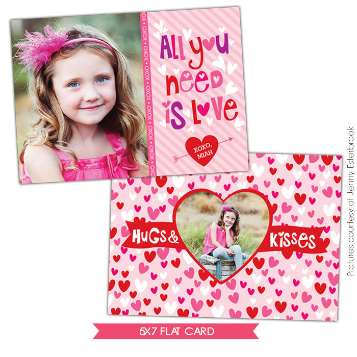 Valentine Photocard Template | Silly love