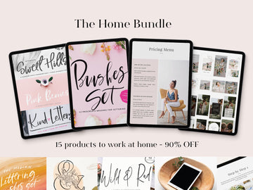 At Home Bundle - 91% OFF - Limited time