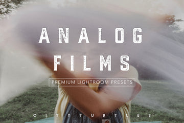 Analog Film Inspired Lightroom Presets Pack for Desktop & Mobile