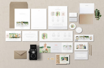 Wedding Photographer Marketing Set – Eucalyptus