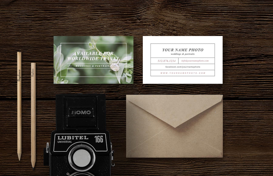 Photography Business Card Design - Laurel