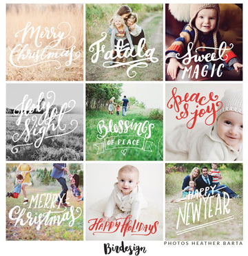 Photo Overlays | Holiday Vol. 1