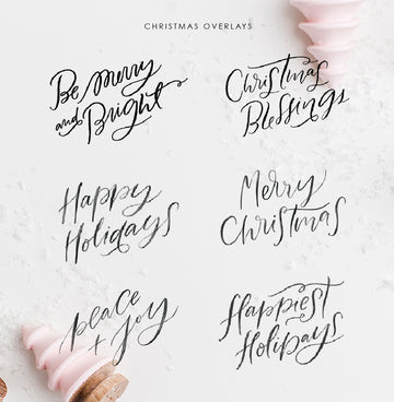 Christmas Photo Overlays Vol 1