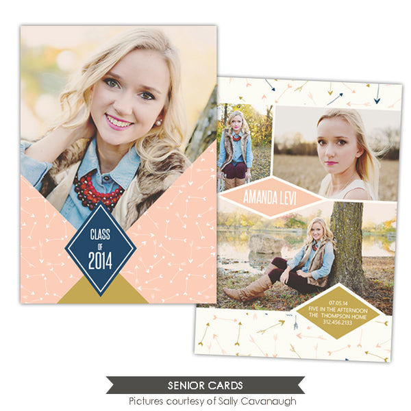 Grad announcement | Sweet Arrows
