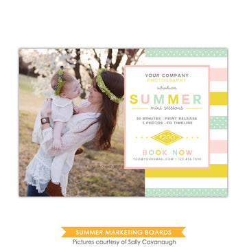 Photography Marketing board | Sweet sunny day