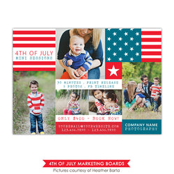 4th of July Marketing board | Patriotic collage