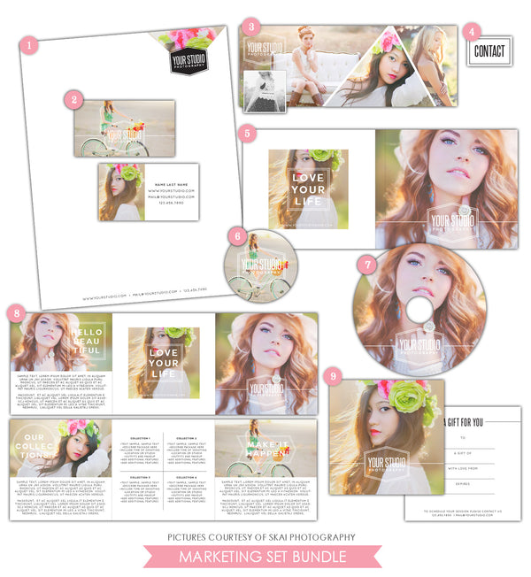 Marketing Set | Splendid Blush
