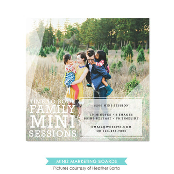 Square Marketing board | Family day
