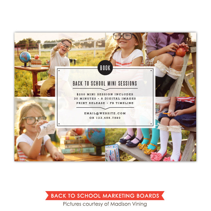 Back to School Marketing board | Days of fun