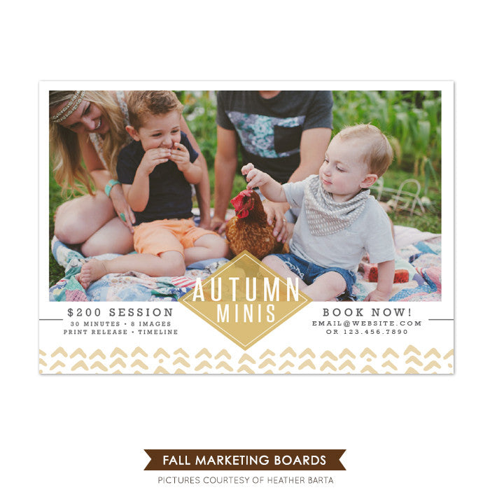 Photography Marketing board | Autumn time