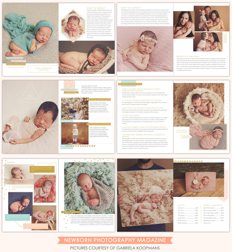 Newborn Digital Magazine | Welcome baby