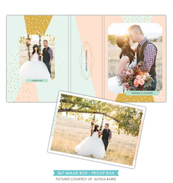5x7 Image Box | Pink and blue