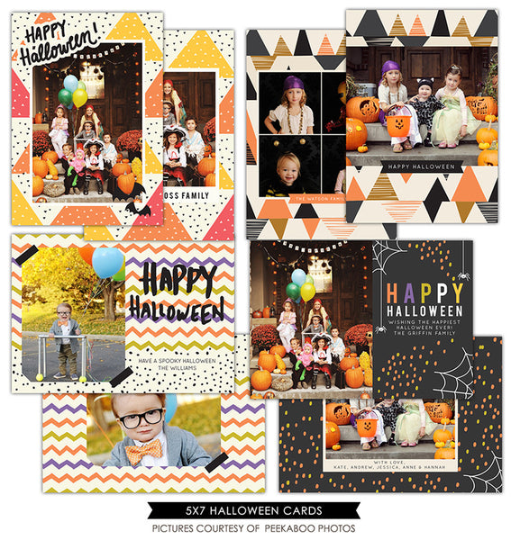 Halloween Photocards Bundle | Halloween Collection II