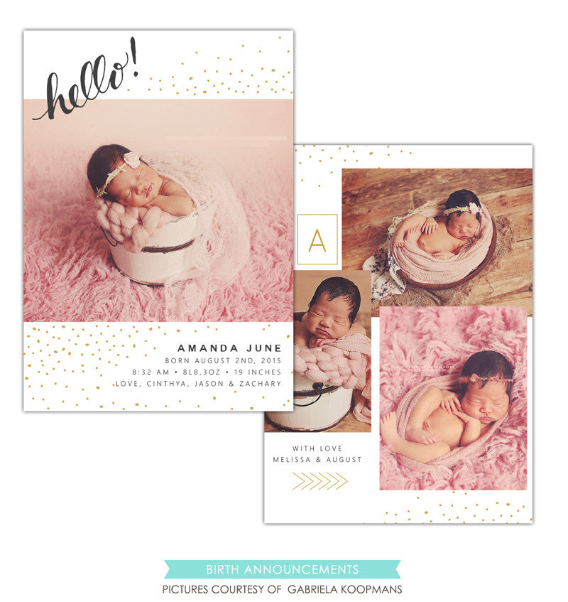 Birth Announcement | Sweet Amanda