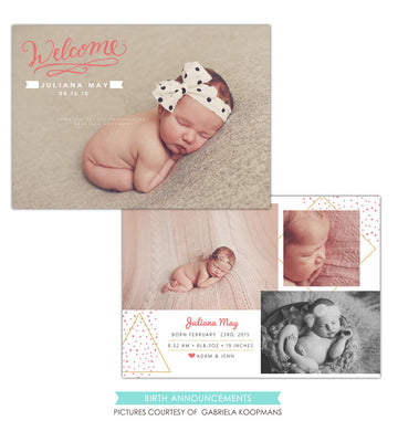 Birth Announcement | Welcome Juliana
