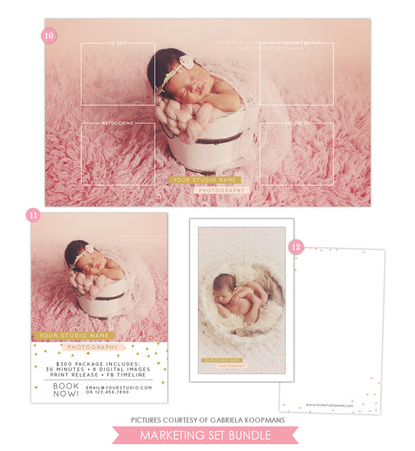Marketing Set | Modern baby set