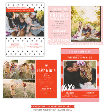 Photography Marketing boards | XO minis