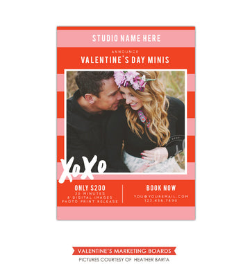 Photography Marketing board | First romance