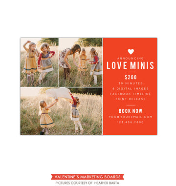 Photography Marketing board | Minis minis