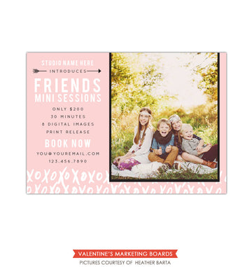 Photography Marketing board | Friends minis