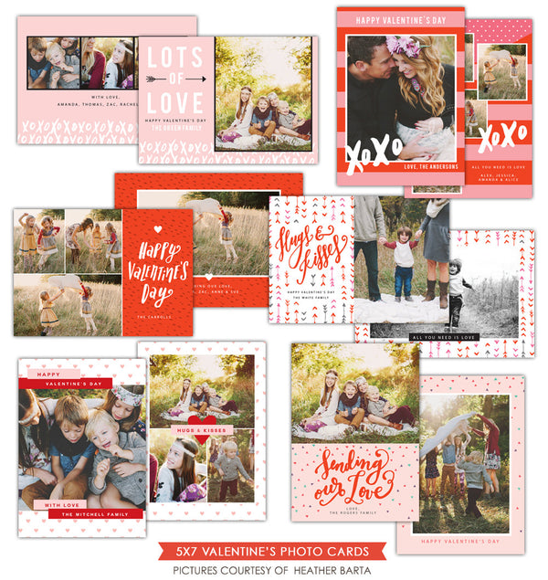 Valentine Photocards bundle | Sweet Valentine