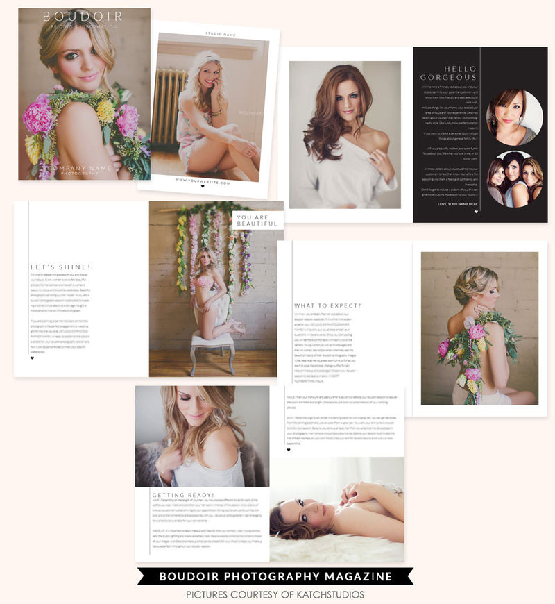 Boudoir Digital Magazine | Sweet Pink